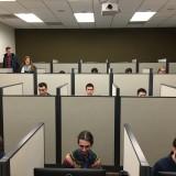 students testing in Economic Science Institute