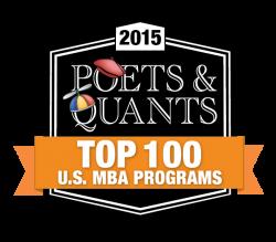 Poets and Quants top 100 rank icon