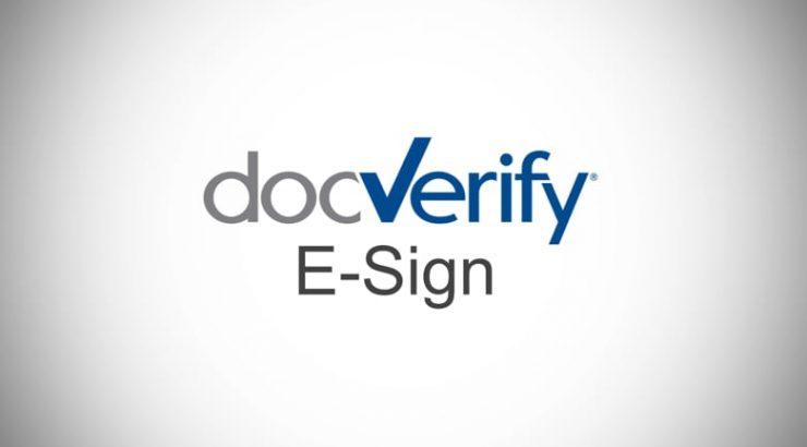 DocVerify logo