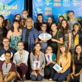 Photo of faculty, students, cast and crew.