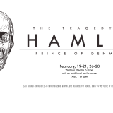 Flyer for Hamlet.