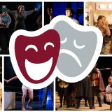 Collage of theatre performance photos