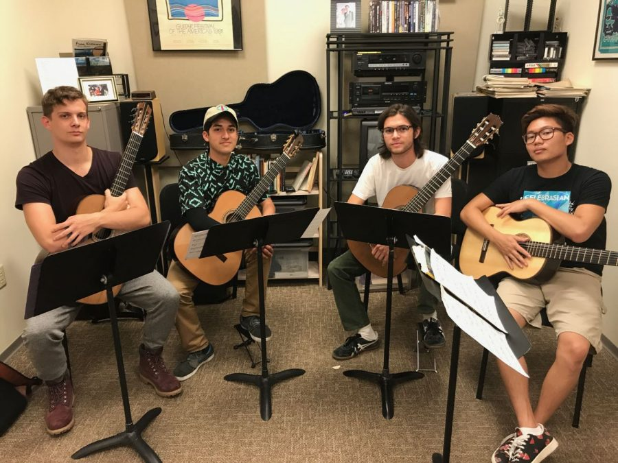 Guitar Quartet Competes at GFA Event -