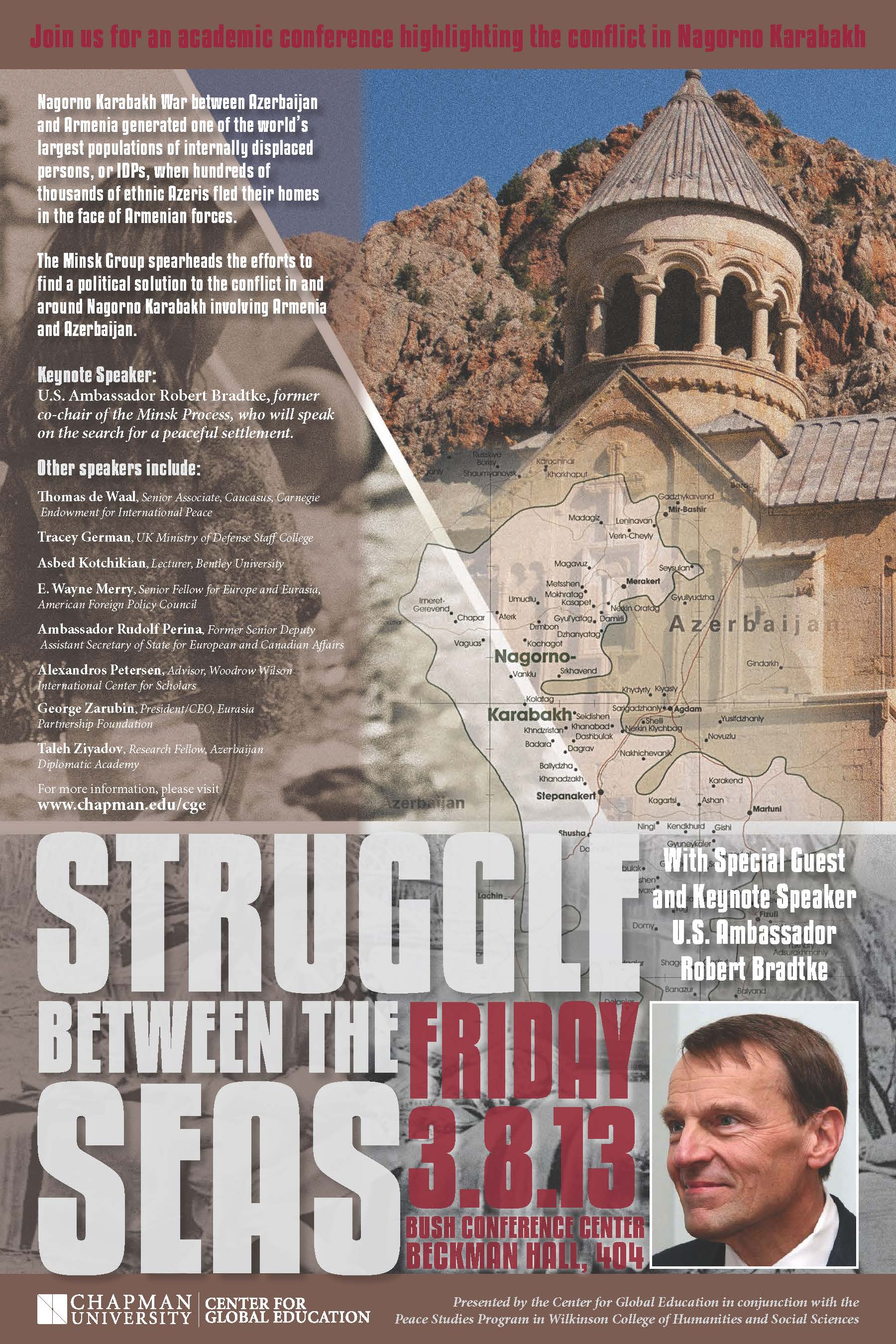 Flyer for Struggle Between the Seas