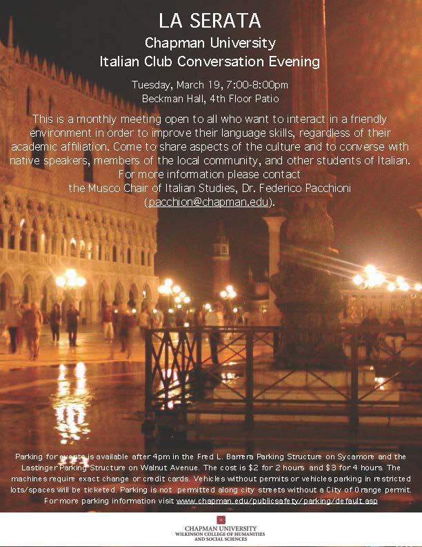 Poster for La Serata