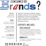 Flyer for Brand Symposium.