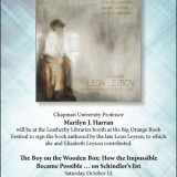 Flyer for Boy on the Wooden Box