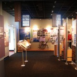 Museum floor.