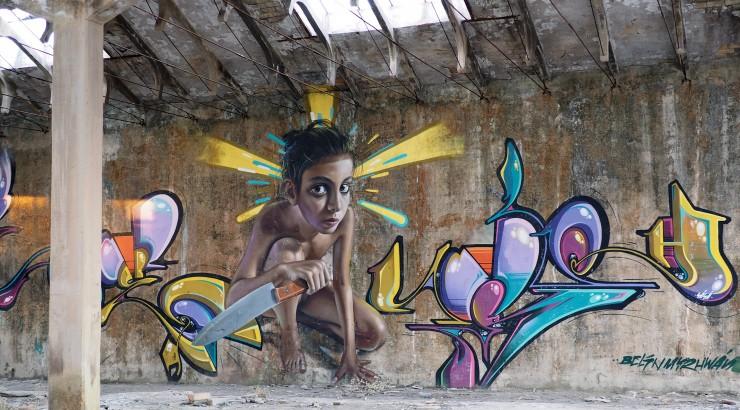 Street art.