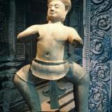Bhima sculpture.