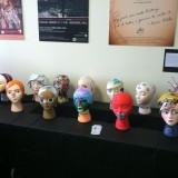 Sculptures of feminist art.
