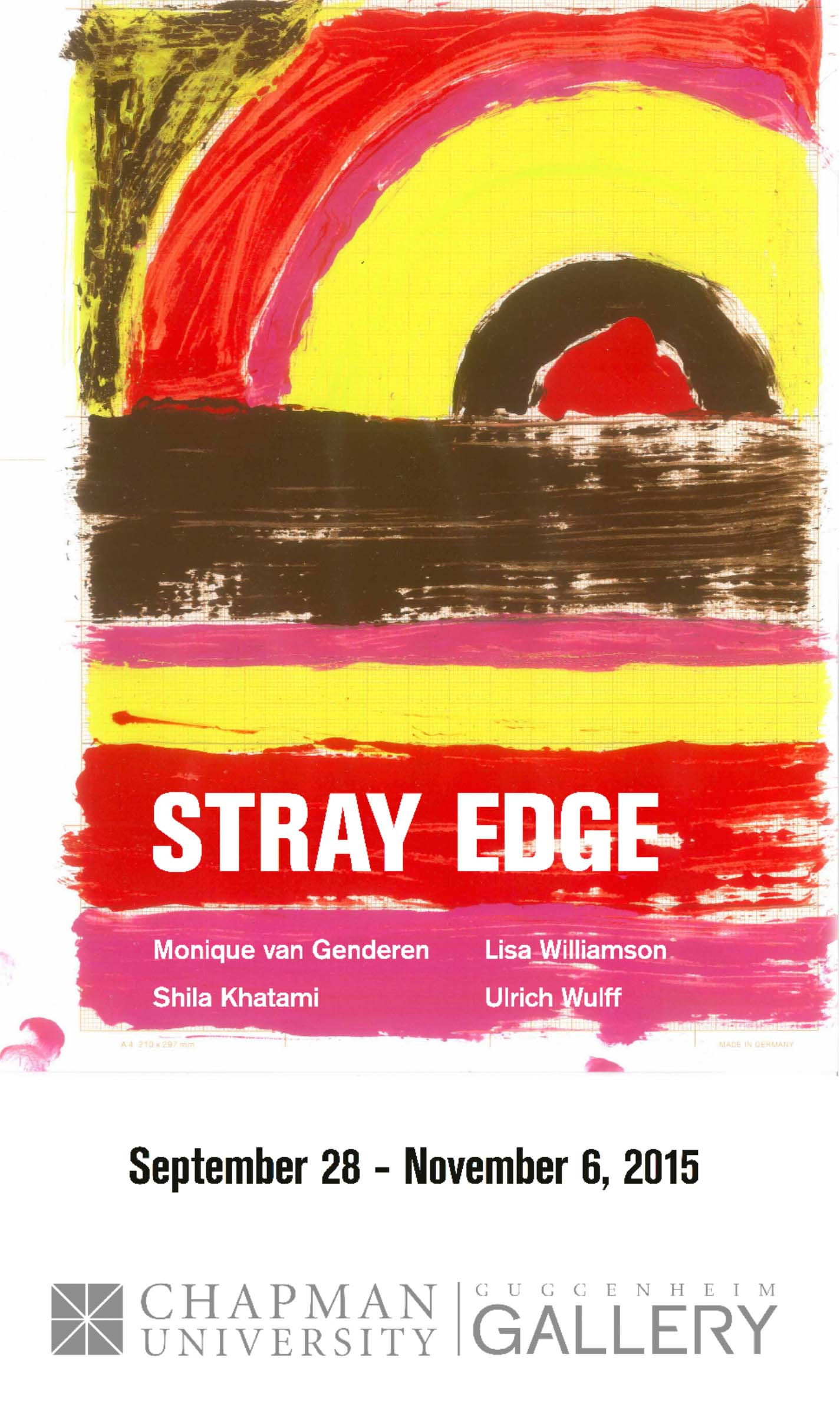 Flyer for Stray Edge