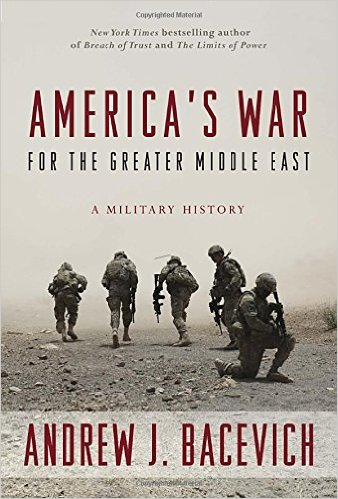 Cover art for America's War for the Greater Middle East