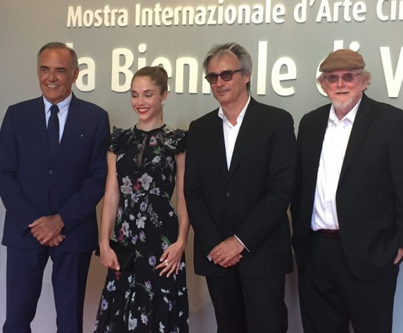 Bausch attends Italian premiere before film's opening in