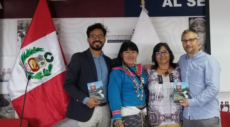 The Tesoro de Nombres Shipibo-Konibo was presented on January 30th at RENIEC's main headquarters in the capital city of Lima.