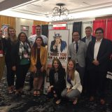 MA War and Society students at the Society for Military History Annual Meeting with Professors Daddis and Threat