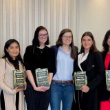 Wilkinson Students Attend Luncheon with Author Casey Cep