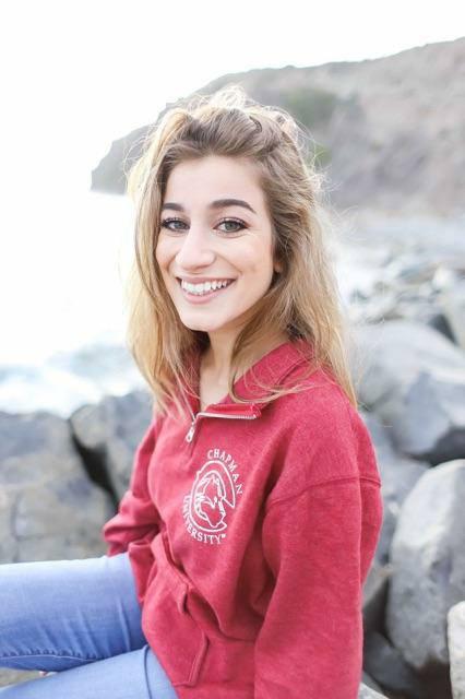 Roxy Amirazizi Political Science and Philosophy Major.