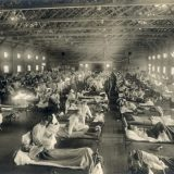 1918-flu-Camp-Funston-Ft.-Riley-Kansas-740x554