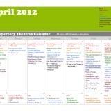 LA Repertory Theatres Screening Calendar for April 2012