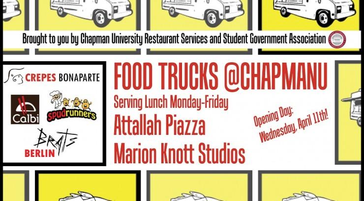 Food Trucks, Chapman University
