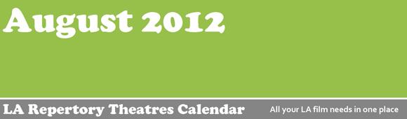 Cinephile's Dream - August 2012 Calendar