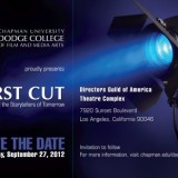 First Cut 2012 Los Angeles Film Selection