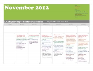 Cinephile's Dream Novemeber Calendar