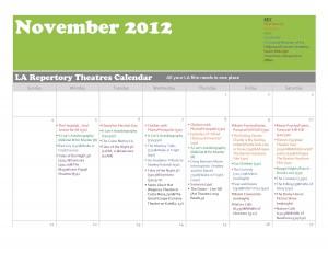 Cinephile's Dream Novemeber Calendar