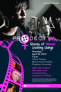 Project W Stories of Women Creating Change Poster