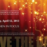 Women in Focus Save the Date 2013