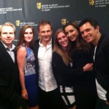 Into the Silent Sea cast and crew at the BAFTA LA Awards