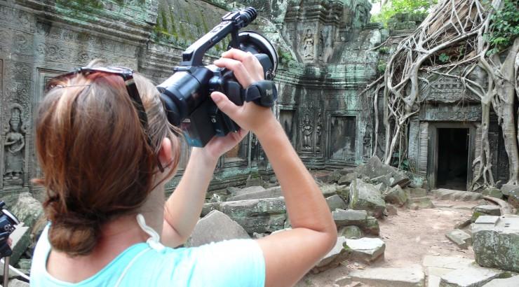 Chapman student in Cambodia