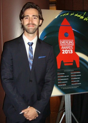 Alum Kyle Klutz wins ICG Award
