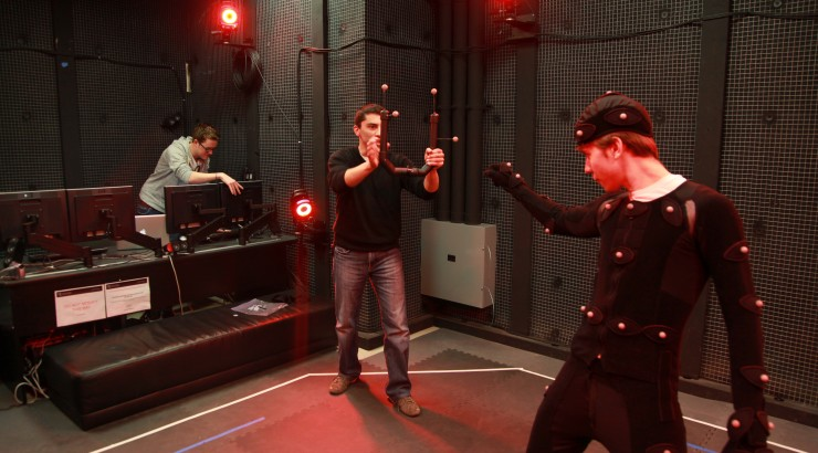 New Motion Capture Equipment for Digital Arts students! - Dodge