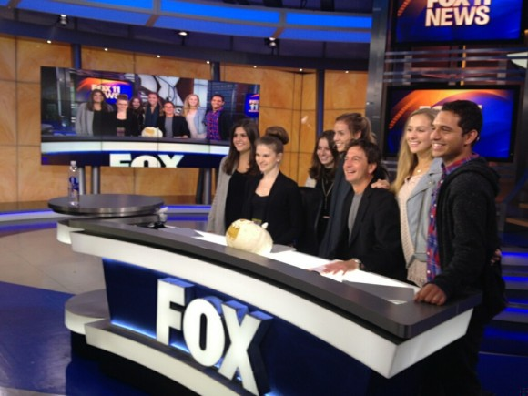 Television and Broadcast Journalism students tour LA's most famous newsrooms