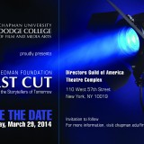 Save the Date: First Cut New York 2014