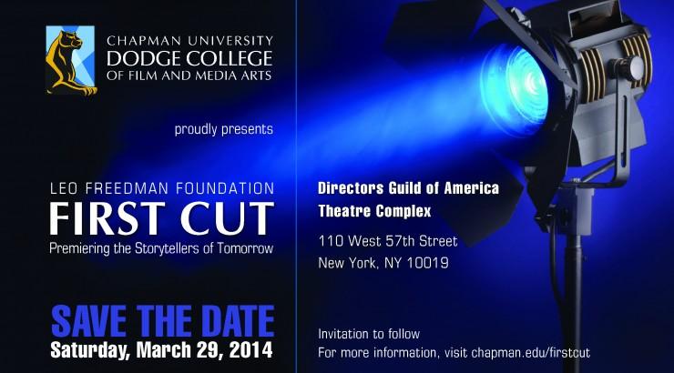 Leo Freedman Foundation First Cut 2014