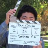Nathan Flanagan-Frankl behind clapboard