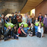 Bill Kroyer led a group of Digital Arts students on a tour of PIXAR and ILM studios in the Bay Area.