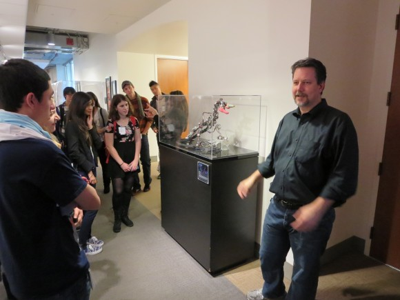 Digital Arts Students tour PIXAR with John Knoll