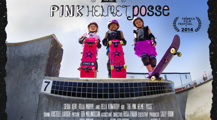 Dodge College Documentary PINK HELMET POSSE Official Poster