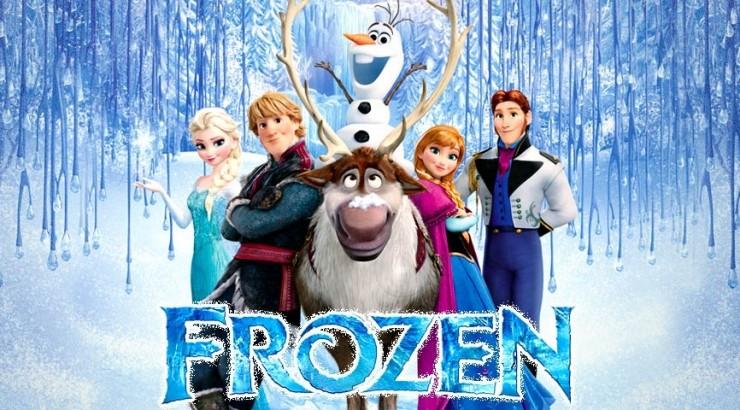 Disney's Frozen marketing material
