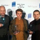 Derek Horne, Dan Carr, Travis Thompson at Sierra Canyon Film Festival