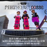 image of official film poster for documentary Pink Helmet Posse