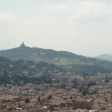 The hillside from Bologna, Italy