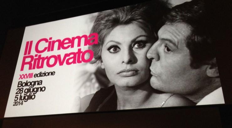 image of Il Cinema Ritrovato screen in Bologna, Italy