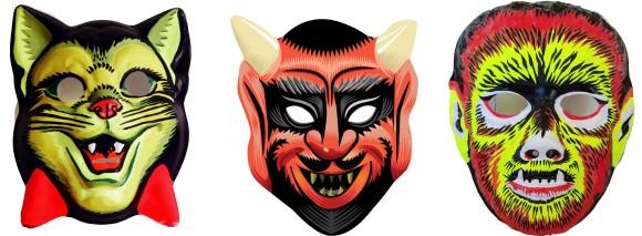 portraits of masks