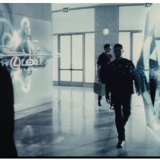 Image from the film MINORITY REPORT