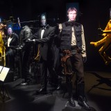 costumes on display